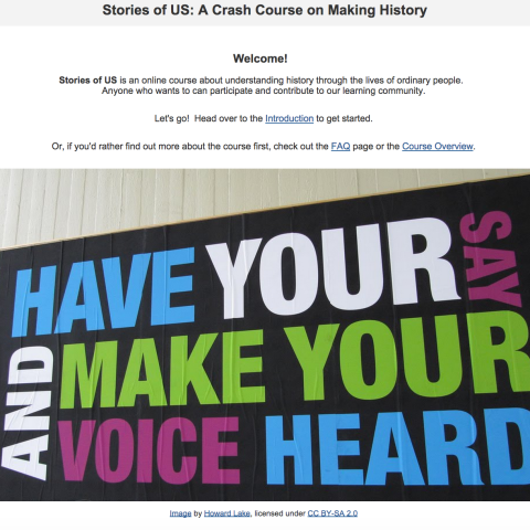 Stories of US Online Course