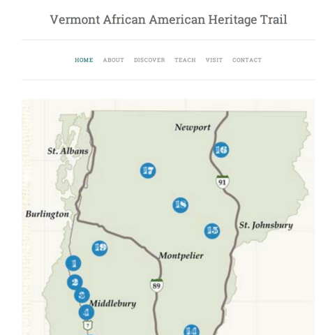 Vermont African American Heritage Trail Curriculum